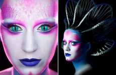 Intense Intergalactic Celebs - Katy Perry's E.T Video Features Fabulous Makeup Artistry