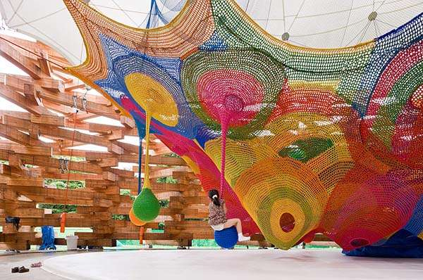 Rainbow Rope Playgrounds