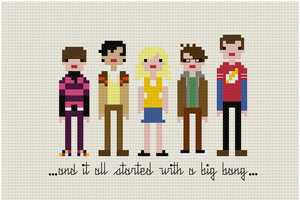 WeeLittleStitches Brings Geek Art to Cross Stitching