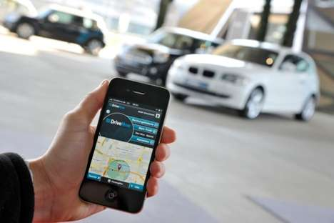 Luxury Car Swap Services - Drivenow Lets You Own a BMW for a Few Hours a Day