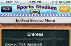 Concession Stand Apps - The Yorder App Lets You Order Gameday Munchies Without Having to Get Up