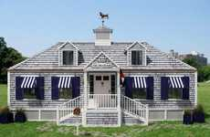 The Tommy Hilfiger Spring Collection Housed in Traveling Cottage