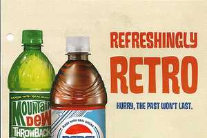 Pepsi and Mountain Dew Bring Back Old Designs and Ingredients