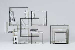 Designer Florian Gross Creates Modern Shelving System for Konnex