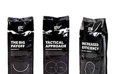 Business Brew Branding - Good Company Coffee Uses Corporate Jargon for its Java Packaging