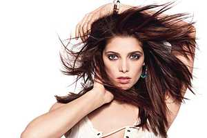 The Ashley Greene US Glamour Editorial for May 2011 is Peachy-Keen
