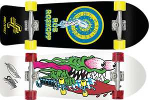 The Santa Cruz 80's Re-Issue is a Tribute to Iconic Skate Decks