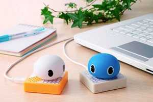 The Twimal Gadgets by Takara Tomy Read Your Tweets Aloud