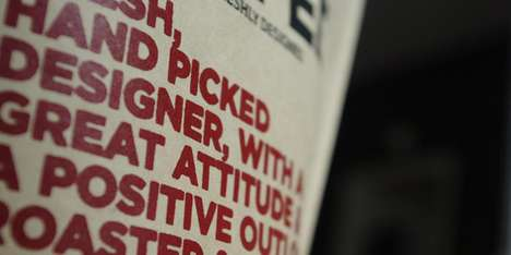 Self-Promoting Packaging - Bejamin Dooling Showcases His Design Skills on Coffee Bags