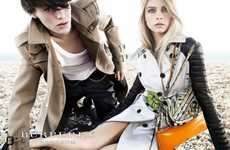 Romantic Beach Commercials - The Burberry SS 2011 Ad Campaign is Marketing Genius