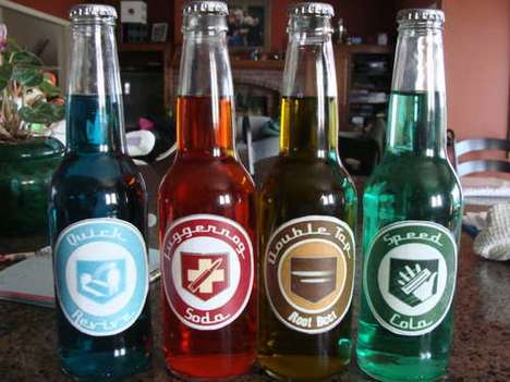 Perk Cola Bottles