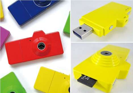 Flash Drive Cameras - The Deceptively Designed Fuuvi Pick is a Fully Functional Digital Camera