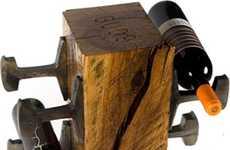 Railroad Wine Racks