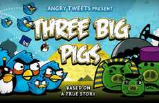 Avian Revolutionary Videos - 'Three Big Pigs' Illustrates the Middle East Uprisings With Angry Birds