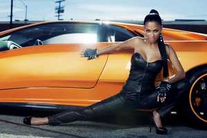 The Nicole Scherzinger Fabulous Magazine Editorial is Hot and Sporty