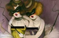 Naughty Vixen Paintings