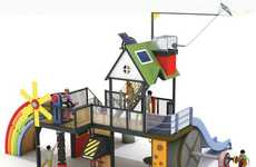 Green Jungle Gyms - The Nature Energy Park Teaches Children About Renewable Energy