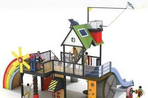 The Nature Energy Park Teaches Children About Renewable Energy