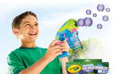 Brilliant Bubbly Toys - Crayola Colored Bubbles Are the Holy Grail in Soap-Blowing Fun