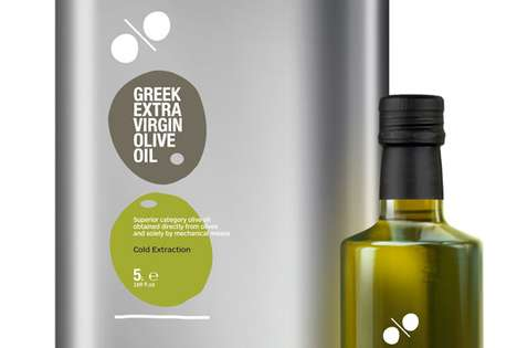 Greek Extra Virgin Olive Oil Packaging