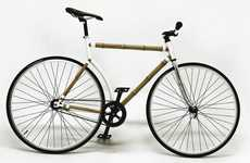 Naturalistic Bamboo Bicycles