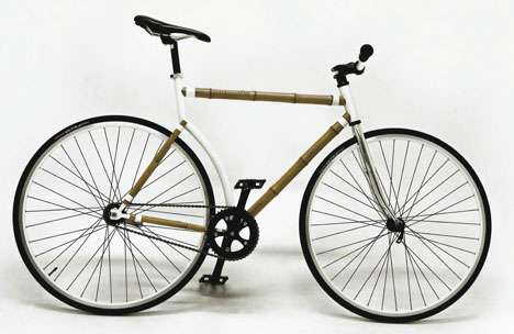 Naturalistic Bamboo Bicycles - The Bamboocycle UH-02 Perfectly Combines Nature and Technology