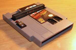 The NES Cartridge-Playing Cartridge is a Unique DIY