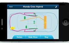 Jaws of Life Auto Apps - The Extraction Zone App Helps First Responders Make the Correct Cuts