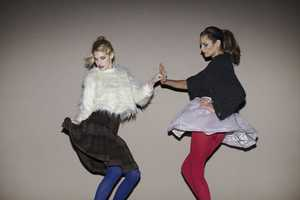 The Opening Ceremony Fall 2011 Catalog Features Ashley Smith and Frankie Rayd