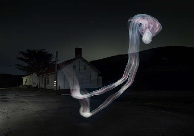 Ghostly Light Paintings