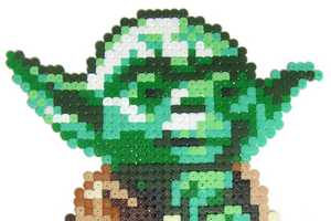 Pixgraff Makes Star Wars Characters Out of Perler Beads