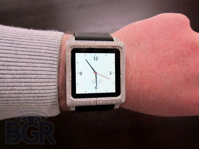 Luxe iPod Nano Watches