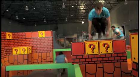 Video Game-Inspired Gyms - The Tempest Freerunning Academy has a Super Mario Motif