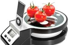 Weigh Food and Enjoy Music With the Frieling JOY Kitchen Scale