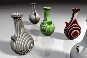 Beeq Vases by Vrouyr Joubanian Merge Past and Future Design