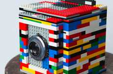 Toy Brick Picture Cameras - The Legotron Camera is a Snapshot of DIY Success