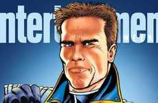 The Governator is a Comic Book Featuring Schwarzenegger
