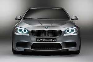 The BMW M5 Concept Vehicle is a Preview of the New Upcoming German Supercar