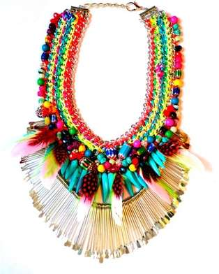 Tribal Tassel Jewelry