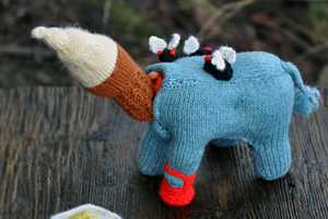Badass Needler Tracy Widdess is Skilled at Brutal Knitting