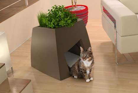 Jardin Chic Planter Pet House