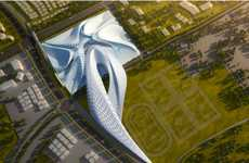 Inverted Octopus Architecture - Elk Grove by Zaha Hadid Spreads its Tentacles into the Community