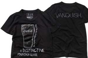 Fashion Brands Give Coca-Cola rPET Shirts a Designer's Touch