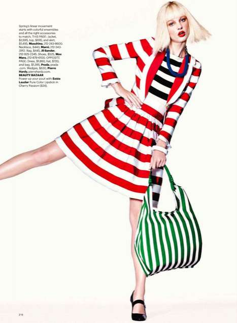 Harper's Bazaar US April 2011 2