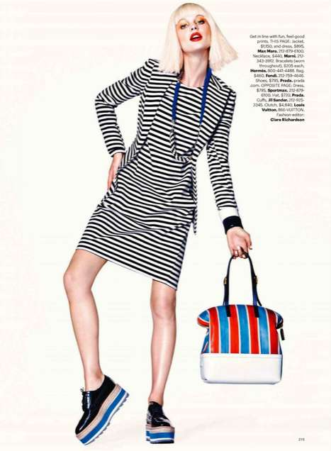 Harper's Bazaar US April 2011 4