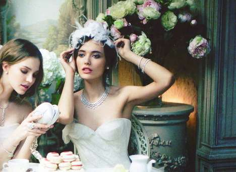 Vogue Russia White Wedding