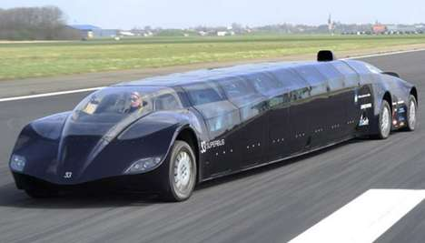 Lightning-Fast Buses (UPDATE) - The Dutch Superbus Goes from Killer Concept to Badass Reality