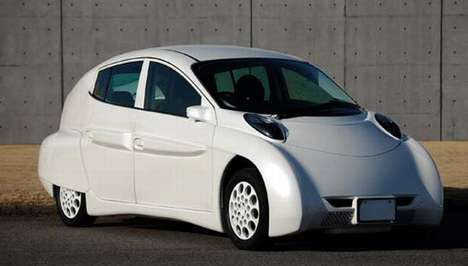 Snow-White Electric Cars - The SIM LEI is a Speedily Efficient Green Vehicle