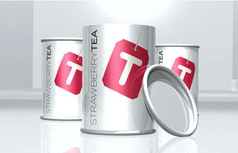 T Tea Packaging