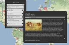 Armed Combat-Flagging Sites - Conflict History Uses Google Maps to Track the History of War